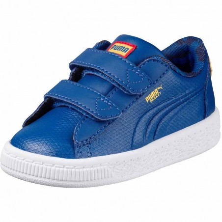 Puma JL superman basket 2912 v inf ps 364003 01 364002 01 bambino