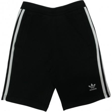 Adidas bermuda uomo 3084 cw2980 3-stripes short, nero