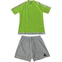 Adidas completo calcio uomo 3208 s16160 estro 15 jsy, giallo-bianco