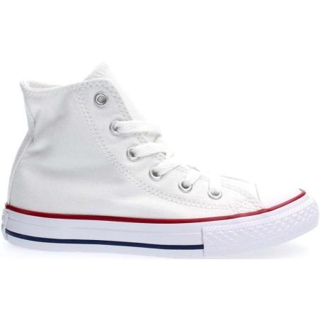 Converse unisex bambino 3254 yts ct core hi 3J253C optical white, bianco