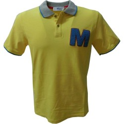 MQJ polo uomo 3183 made in italy mqt40015 8433, giallo