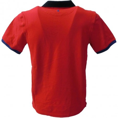 MQJ polo uomo 3184 made in italy mqt40021 8446, rosso