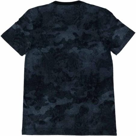 Adidas t-shirt unisex blu