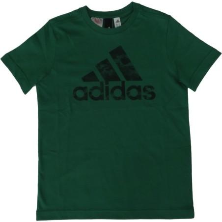 Adidas t-shirt bambino unisex verde