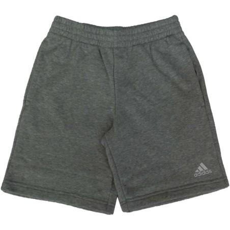 Adidas pantaloncino bambino unisex grigio
