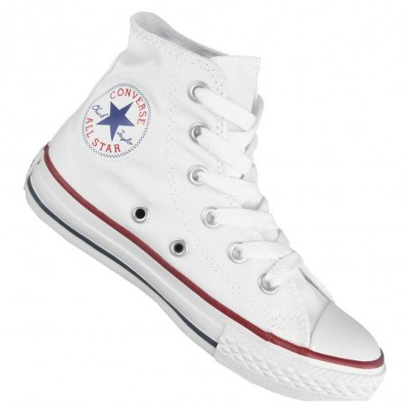 Converse all star hi optical white, bianco