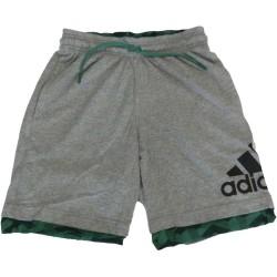 Adidas pantaloncino uomo grigio