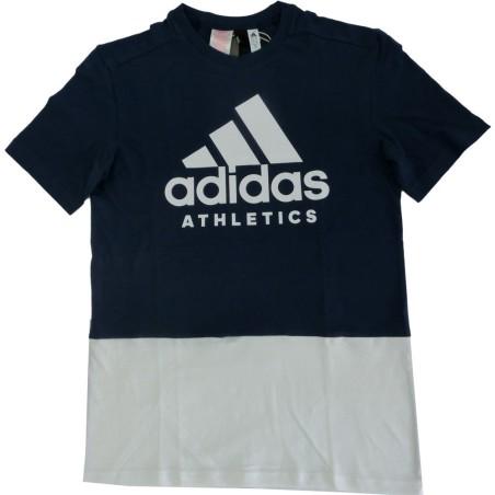 Adidas t-shirt bambino blu
