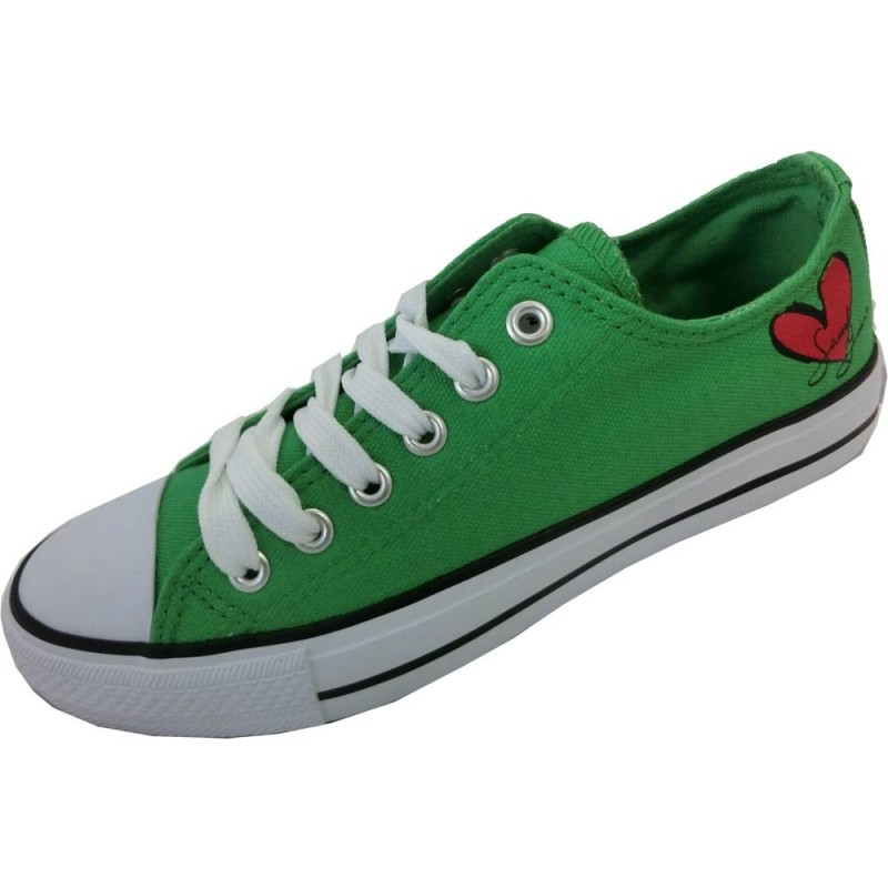 Sweet years scarpe donna verde