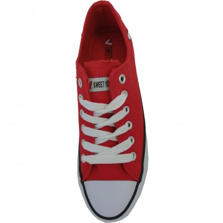 Sweet years scarpe donna rosso