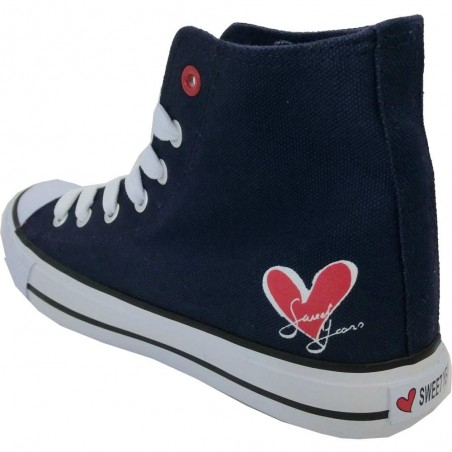 Sweet years scarpe donna blu