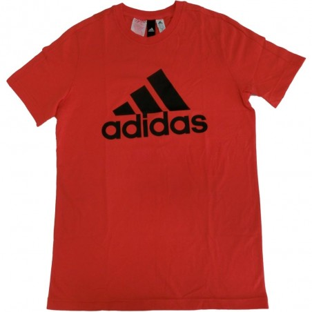 Adidas t-shirt bambino unisex rosso