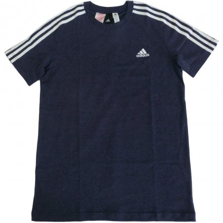 Adidas t-shirt bambino unisex blu