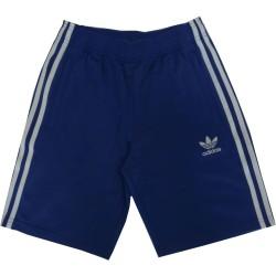 Adidas pantaloncino bambino unisex blu