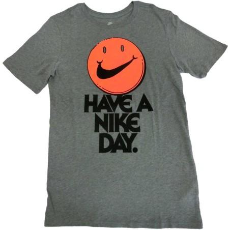 Nike t-shirt uomo grigio