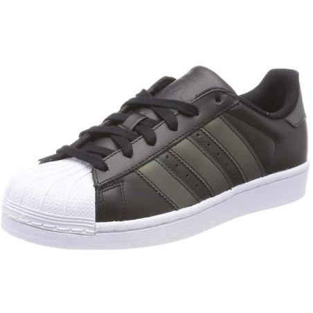 Adidas superstar J scarpe unisex nero