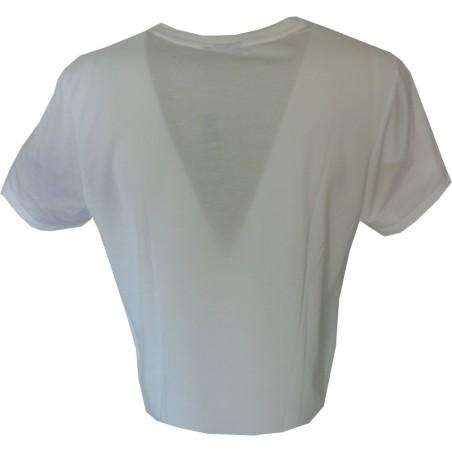 Adidas t-shirt unisex bianco