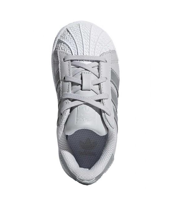 ... Adidas superstar I scarpe unisex bambino, grigio ...