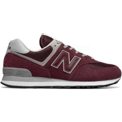New Balance ML574EGB scarpe uomo, bordo