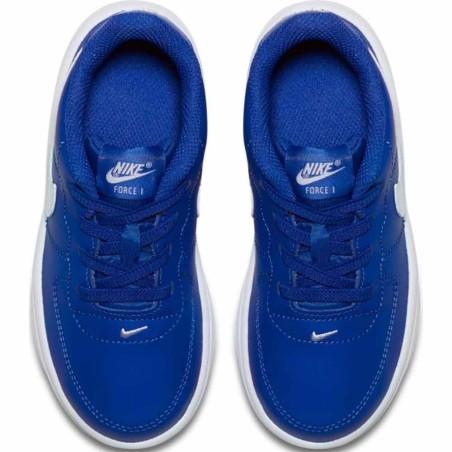 air force 1 bambino blu