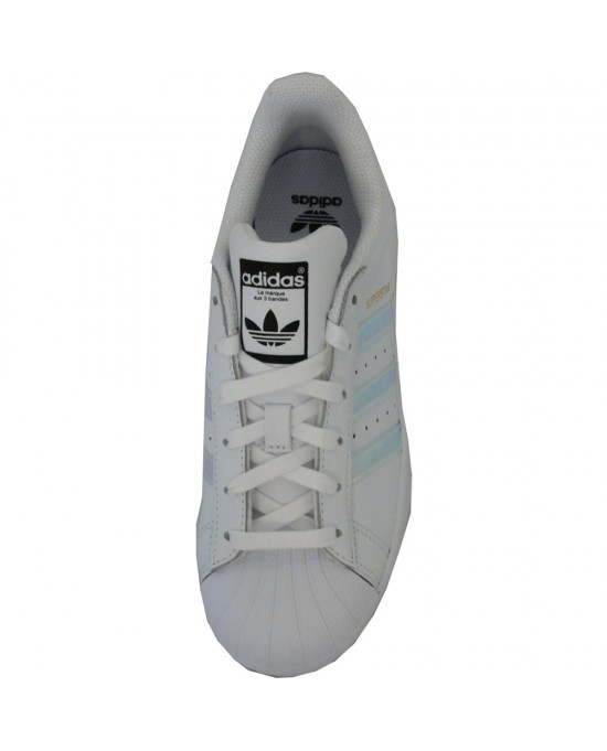 lower price with 8fa5b b02aa ... Adidas superstar J scarpe unisex, bianco-argento ...