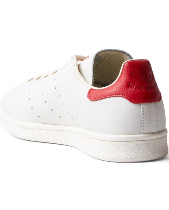 best website a1f63 69e9b ... get adidas stan smith scarpe uomo bianco rosso 4c85c 17e2c