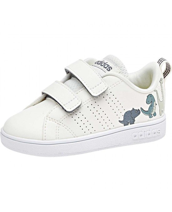 sports shoes 9c873 111d2 ... Adidas VS advantage scarpe con strappi bambino, bianco ...