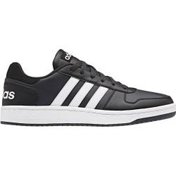 Adidas hoops scarpe uomo, nero