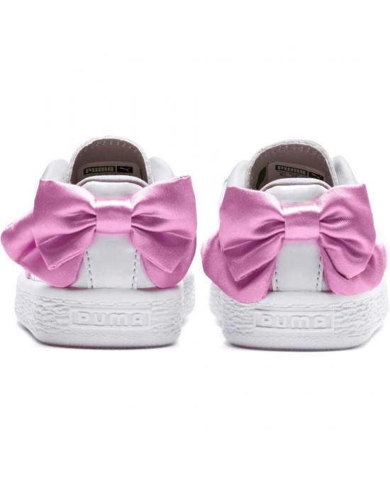 c506594278200d ... Puma basket bow patent AC (PS) scarpe bambina