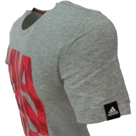 adidas t-shirt uomo 2104 grigio