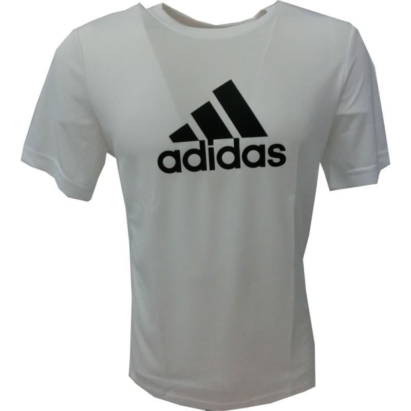 adidas t-shirt bambino 2108 bianco