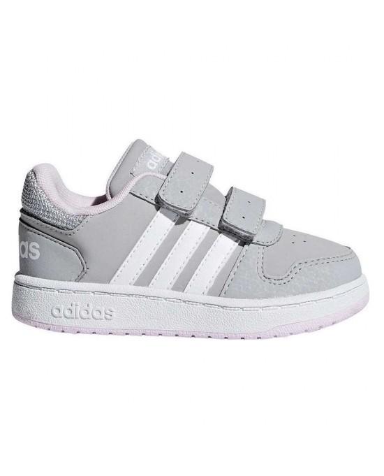 low priced fbd50 768cc ... Adidas hoops 2.0 cmf C scarpe bambina ...