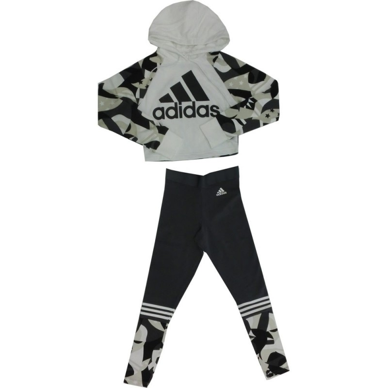 newest collection c91df 4c484 Adidas W sid hood aop completo donna