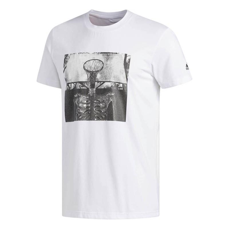 Adidas skull ball t-shirt