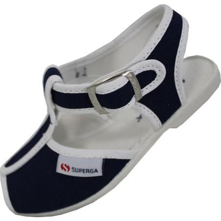 Superga sandali bambino unisex blu