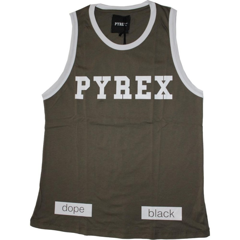 Pyrex canotta uomo