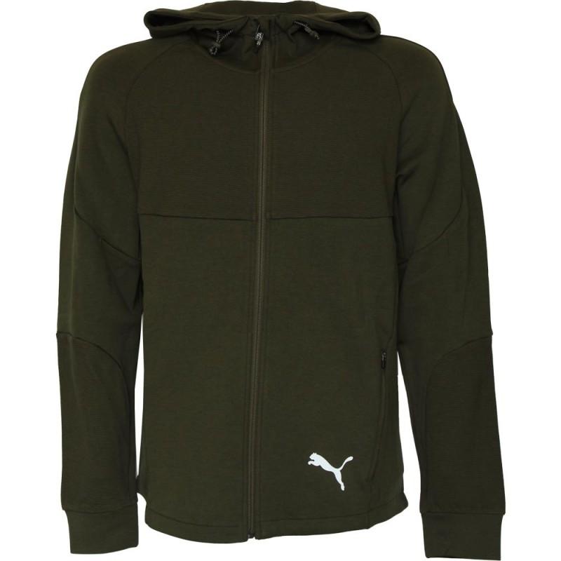 Puma evostripe fz hoodie felpa