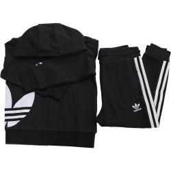 Adidas big trefoil hood
